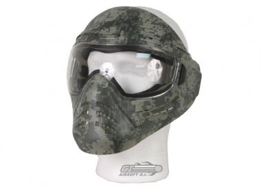Save Phace Digi ( ACU Tiger Stripe ) Full Face Tactical Mask ( Lens Package )