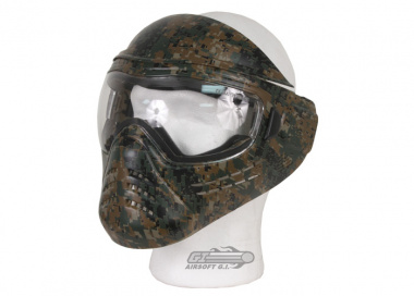 (Discontinued) Save Phace Hoorah! ( Marpat ) Full Face Tactical Mask ( Lens Package )