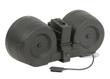 * Discontinued * SRC 2500rd MK36/G36 High Capacity AEG C-Mag ( w/ Pressure Switch )