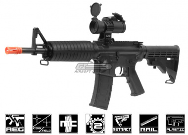 SRC Dragon M733 Carbine AEG Airsoft Gun ( Black )