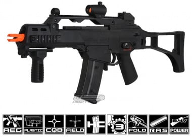 SRC SR36C AEG Airsoft Gun (Battery & Charger Package)