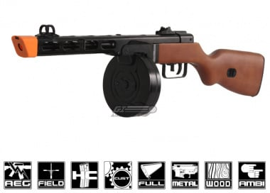 S&T Full Metal / Real Wood PPSH AEG Airsoft Gun