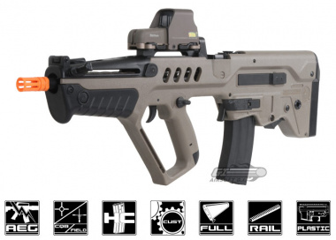 S&T Tavor TAR-21 Explorer AEG Airsoft Gun ( Dark Earth )
