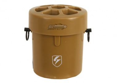 S-Thunder Step & Release Airsoft Landmine Shell ( Tan )