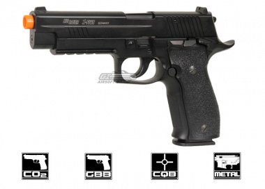 KJW Full Metal Sig Sauer P226 X-Five CO2 Blowback Pistol Airsoft Gun