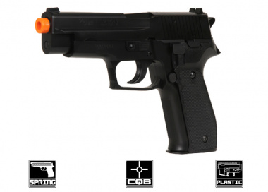 Sig Sauer P226 Spring Pistol Airsoft Gun Licensed by Cybergun