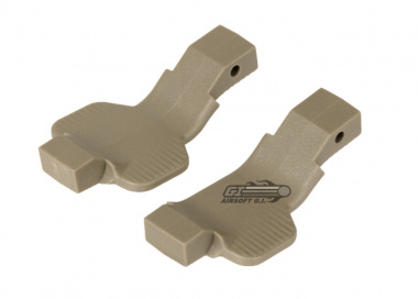 Strike Industries Cobra Trigger Guard for M4 / M16/AR ( Lefty+Ambidextrous / FDE )