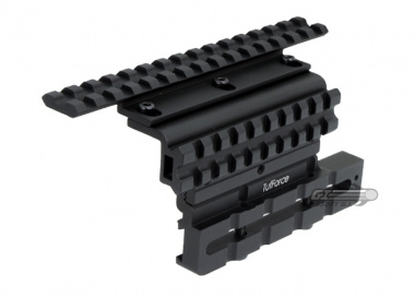 Tufforce AK Side Mount w/ Adjustable Height & Centerline