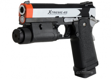 Tokyo Marui Full Metal Xtreme 45 Fully Automatic GBB Pistol Airsoft Gun
