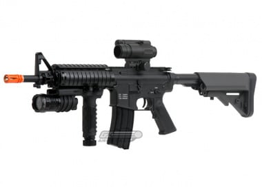 (Discontinued) TSD Tactical Gen II. Full Metal M4-CQBR Airsoft Gun