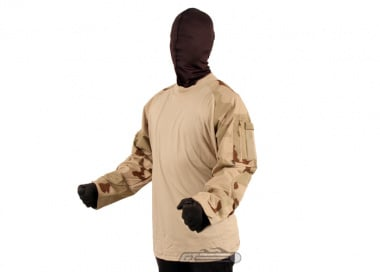 * Discontinued * Tru-Spec Combat Shirt ( 3C Desert / XL / Long )