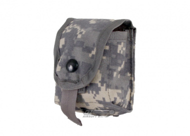 * Discontinued * Tru-Spec MOLLE Frag Grenade Pouch ( ACU )