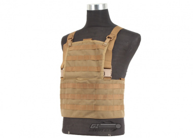 Tru-Spec MOLLE Rack Vest ( Coyote / Tactical Vest  )