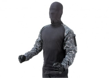 Tru-Spec Combat Shirt ( Urban Digital / L / Long )