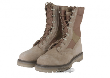 * Discontinued * Tru-Spec Hot Weather Combat Boots (Tan / Sz 11)