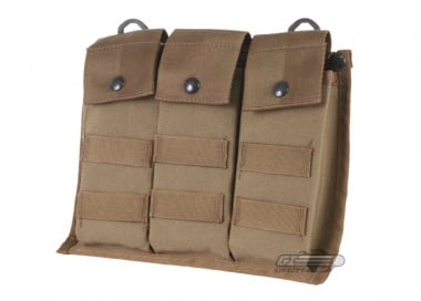 ( Discontinued ) Tru-Spec MOLLE Bandolier Ammo Pouch / Bag ( Coyote )