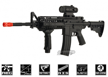 CYMA M4 S-System Plastic Gearbox Electric Airsoft Gun