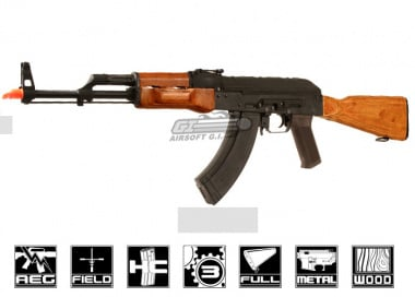 CM048M Full Metal / Real Wood AKM AEG Airsoft Gun ( New Version )