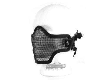 UK Arms Tactical Metal Mesh Half Mask ( Blk )