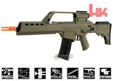 Umarex H&K Blow Back G36KV AEG Airsoft Gun ( Dark Earth )