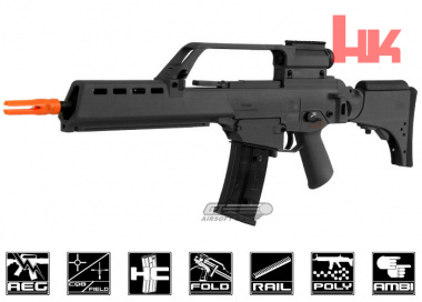 Elite Force H&K Blow Back G36KV AEG Airsoft Gun ( BLK )