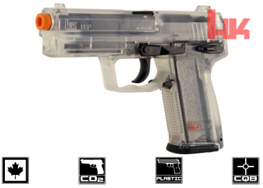 Elite Force H&K USP Canadian Legal CO2 Pistol Airsoft ( Clear )