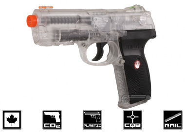 Elite Force Ruger P345 Canadian Legal CO2 Airsoft Pistol ( Clear )