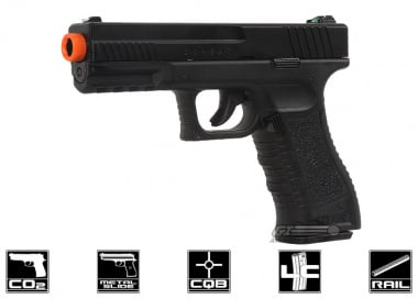 Tactical Force Combat CO2 Blowback Pistol Airsoft Gun ( Licensed by Umarex )