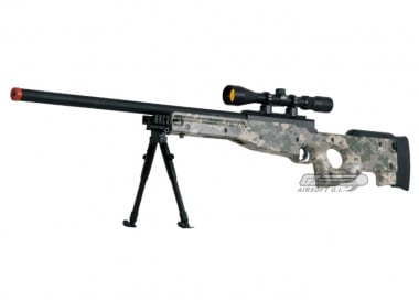 UTG Full Metal MK96 Bolt Action Sniper Rifle Airsoft Gun ( ACU )