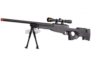 UTG Full Metal MK96 Bolt Action Sniper Rifle Airsoft Gun ( BLK )