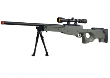 UTG Full Metal MK96 Bolt Action Sniper Rifle Airsoft Gun ( OD )