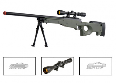 UTG Full Metal MK96 Bolt Action Sniper Rifle Airsoft Gun ( OD / Scope Package / Online ONLY )