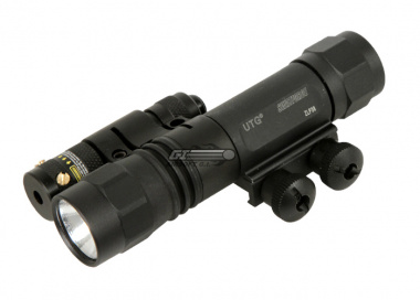 UTG Swatforce 2 in 1 Xenon Tactical Flashlight & Red Laser Combo