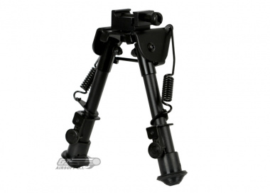 UTG Tactical Op Bipod w/ Swivel Stud & Picatinny Mount