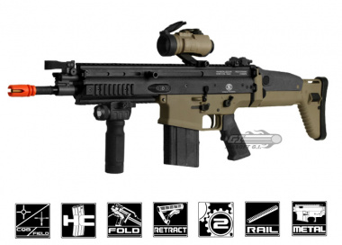 VFC FN Herstal SCAR-H MK17 CQC Airsoft Gun ( 2-tone / Tan Lower Receiver )