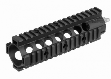VFC CNC URX Style Mid Length RIS Unit for M4 by: VFC - Airsoft GI -