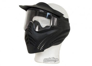 V-Force Vantage Pro Anti-Fog Full Face Mask ( Black )