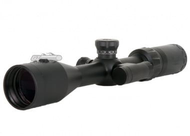 Vism 3-9x42 Center Beam Series Scope ( P4 Sniper Reticle & Integrated Green Laser )
