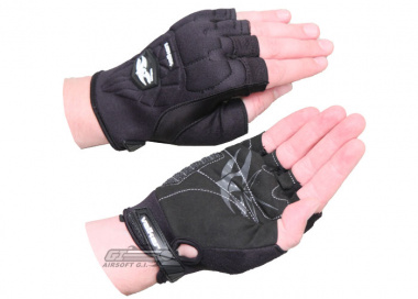 Valken Impact Half Finger Gloves ( Large / XL )