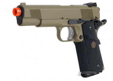 WE Full Metal 1911 MEU Desert Warrior Airsoft Gun