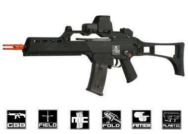 WE G39K GBB Rifle Airsoft Gun ( BLK )