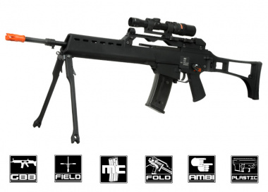 WE G39 GBB Rifle Airsoft Gun ( BLK )