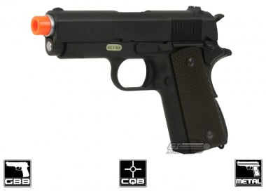 WE Full Metal 1911 3.8 Single Stack Latest Edition Airsoft Gun