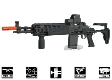 WE Full Metal M14 EBR GBB Rifle Airsoft Gun ( BLK )