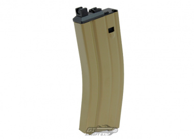 WE 30rd MK16 Closed Bolt CO2 GBB Rifle Magazine ( Tan )