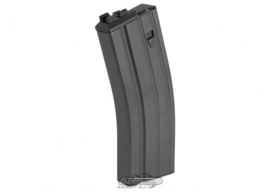 WE 32rd SCAR-L Open Bolt CO2 GBB Rifle Magazine ( BLK )