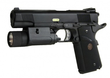 WE Full Metal 1911 Tactical MEU Airsoft Gun ( 1 Magazine )