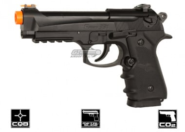 WG Sport 331 Blowback CO2 Pisol Airsoft Gun ( BLK / Metal Slide )