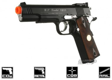 WG Full Metal Xtreme Special 1911 CO2 Pistol Airsoft Gun