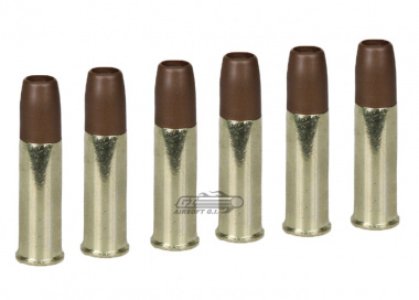 WG CO2 Revolver Replacement Shells ( 6 Pack )